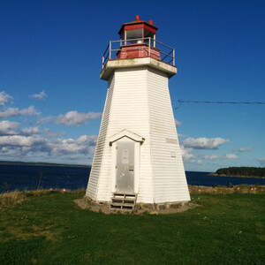 Yes, a lighthouse I took a picture of in Canada. It's symbolic, for, uhmm, me feeling well and the treatment having done what it should? Like a well-working lighthouse? Hey, I'm running out of meaningful blog pictures here, cut me some slack...